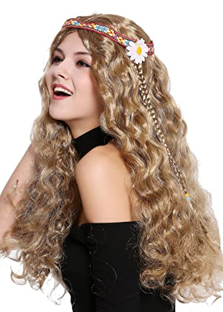 WIG ME UP ® - 91298-ZA7 Peluca Mujer Hombre Carnaval ...