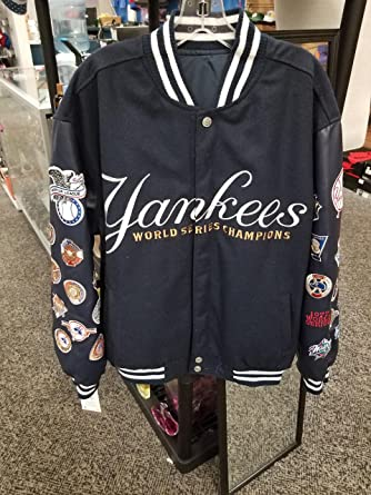 J H Design New York Yankees Championship Commerative Jacket At
