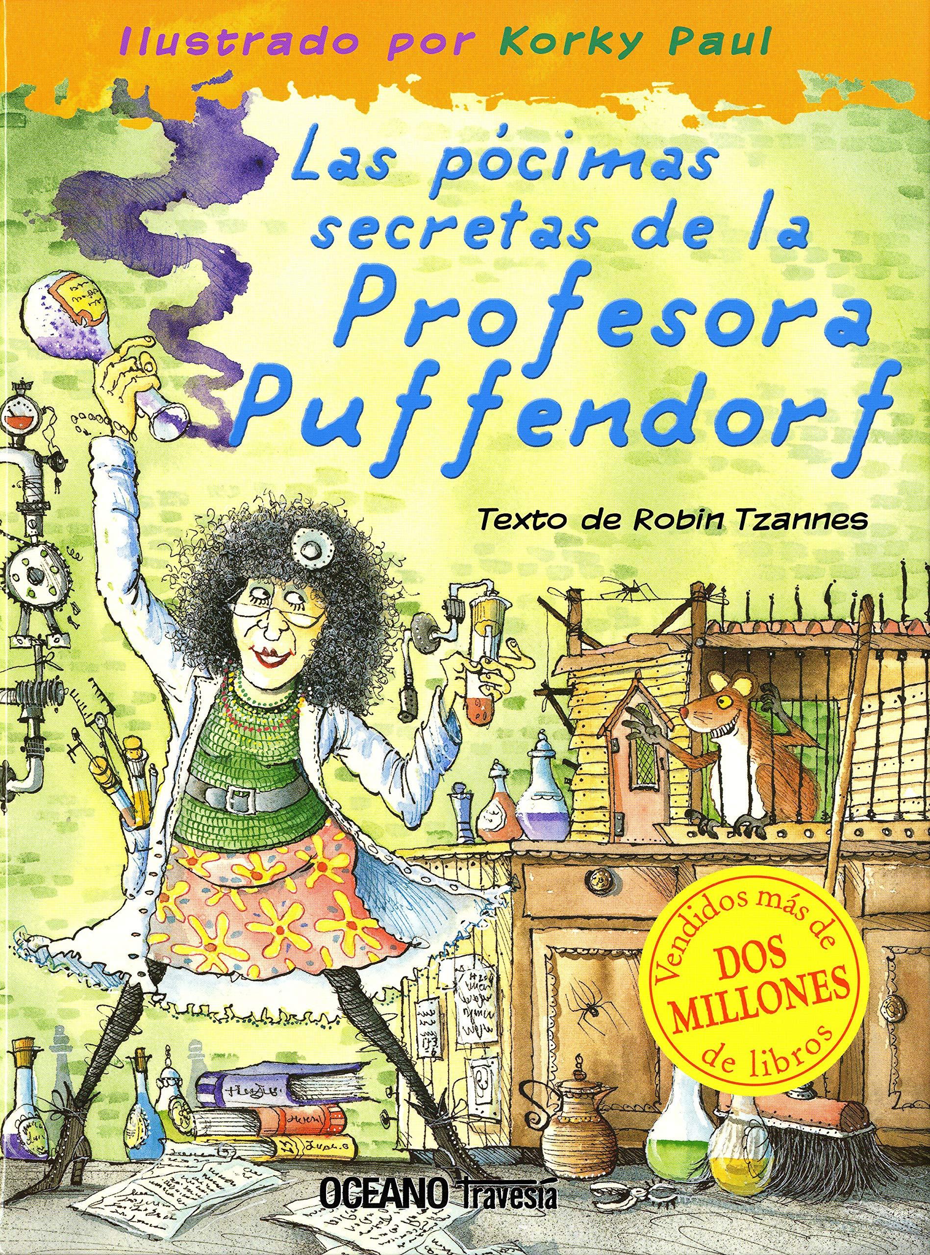 Amazon.com: Las Pocimas secretas de la Profesora Puffendorf ...