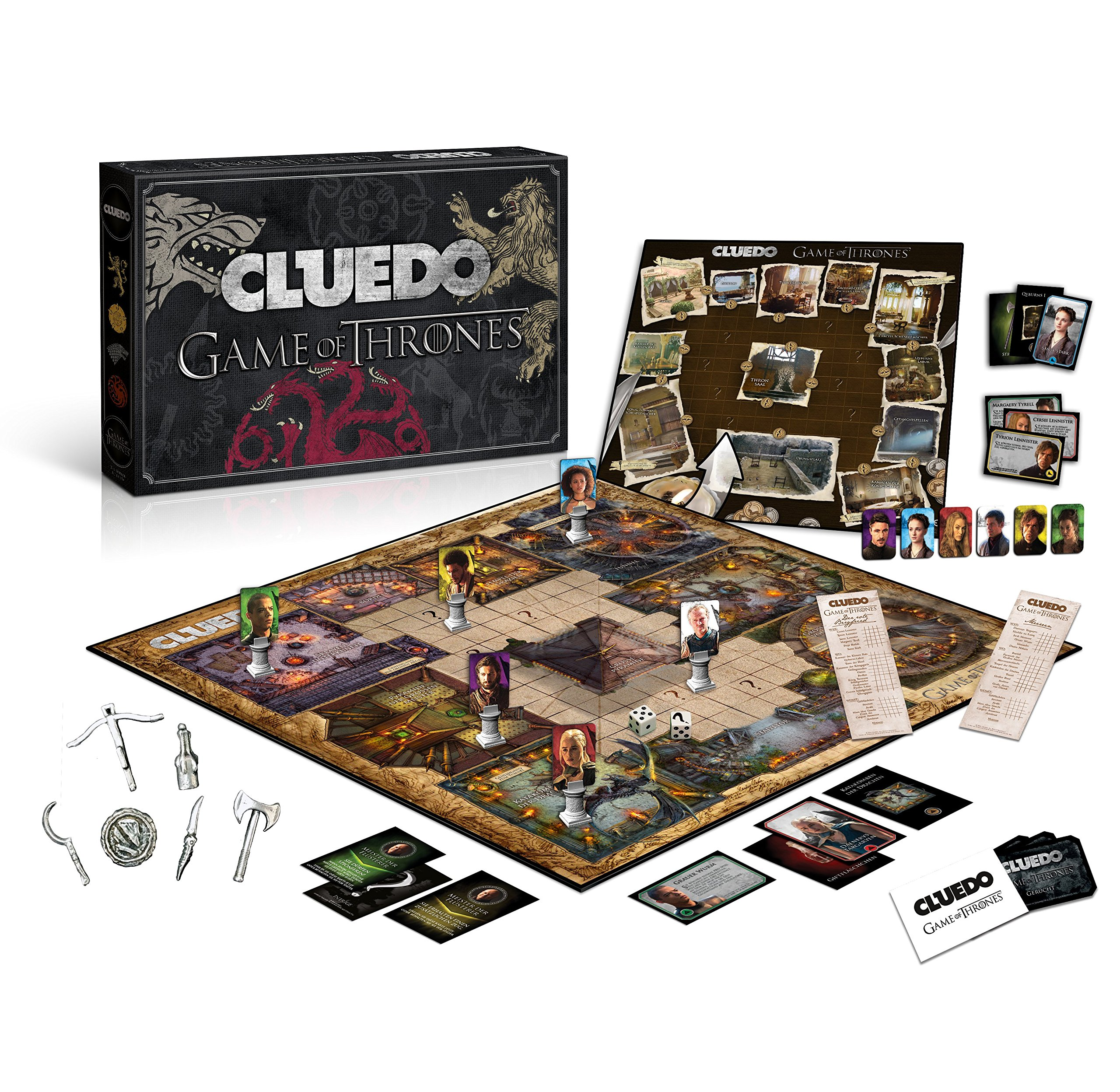 Cluedo Game of Thrones Collectors Edition: Amazon.es: Libros en idiomas extranjeros