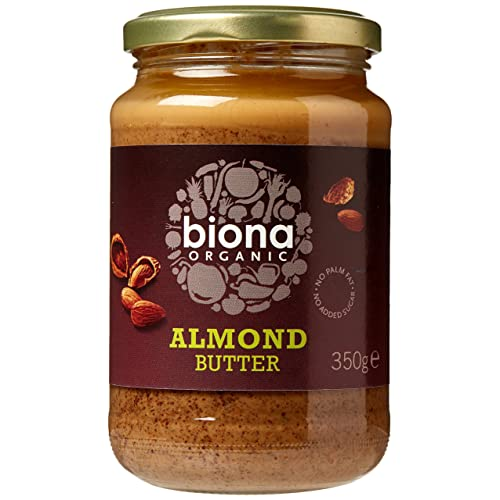 Biona Organic Almond Butter 350g (Pack of 2)
