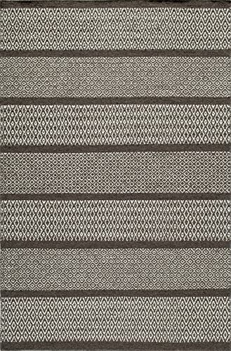 Momeni Rugs Mesa Collection, 100 Wool Hand Woven Flatweave Transitional Area Rug, 8 x 10 , Brown
