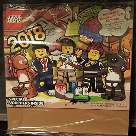 Lego Store Calendar (2018) with exclusive Lego Store vouchers ...