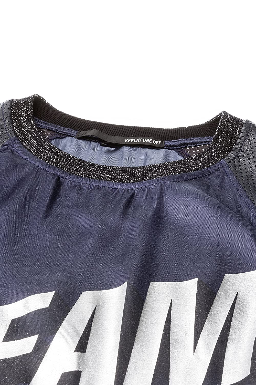 Replay One Off II Damen Shirt Top DW6031 10075 086: Amazon.de: Bekleidung