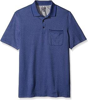 3bb3342a237 Van Heusen Men's Big and Tall Flex Short Sleeve Stretch Solid Polo Shirt