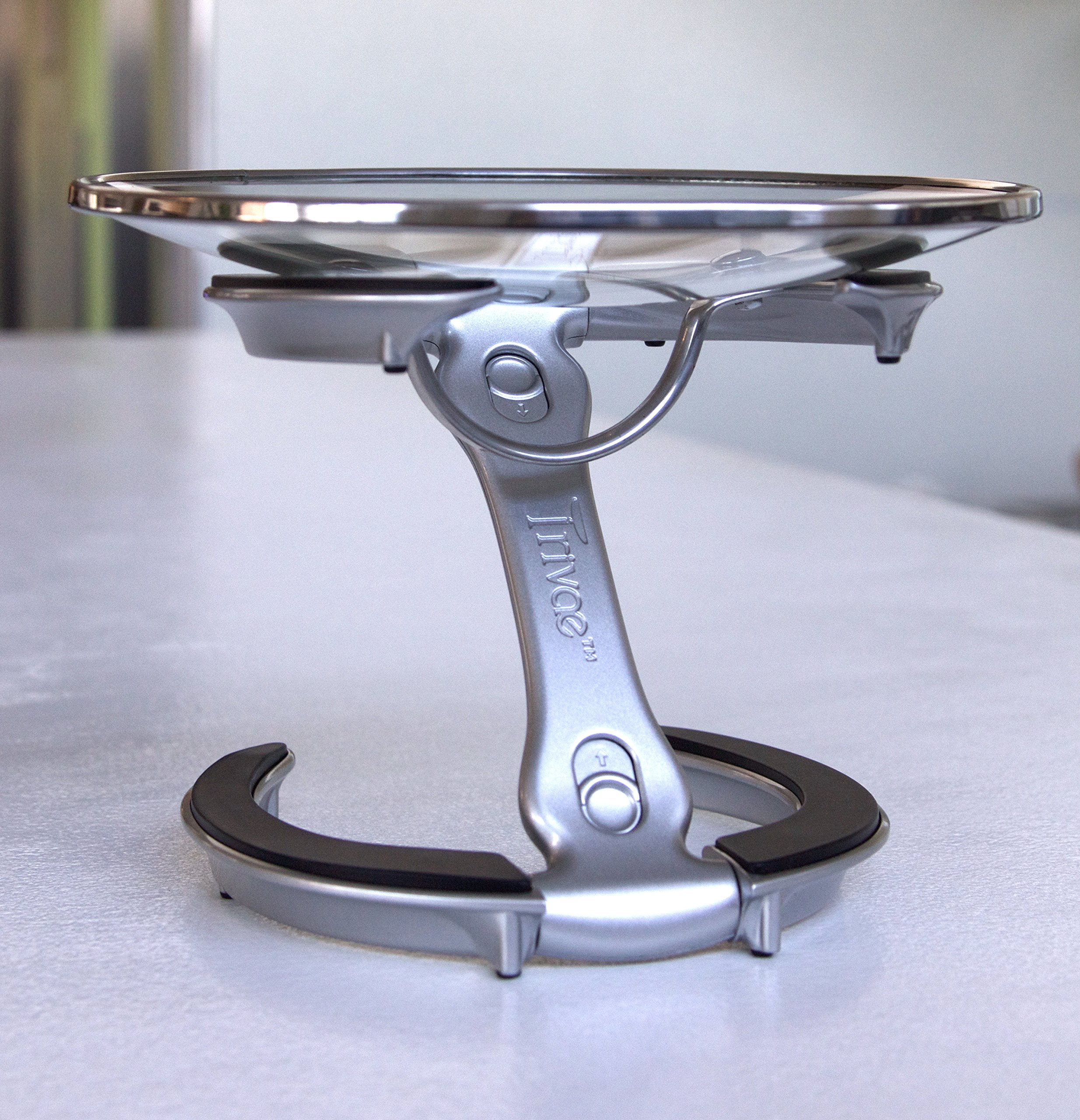 Trivae Multifunctional Kitchen Tool & Tabletop Accessory - Lid Holder, Expandable Trivet and Display Stand in One