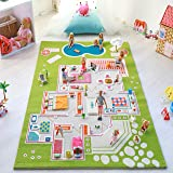 Amazon Com Disney Cars 2 Puzzle Mat Kitchen Amp Dining