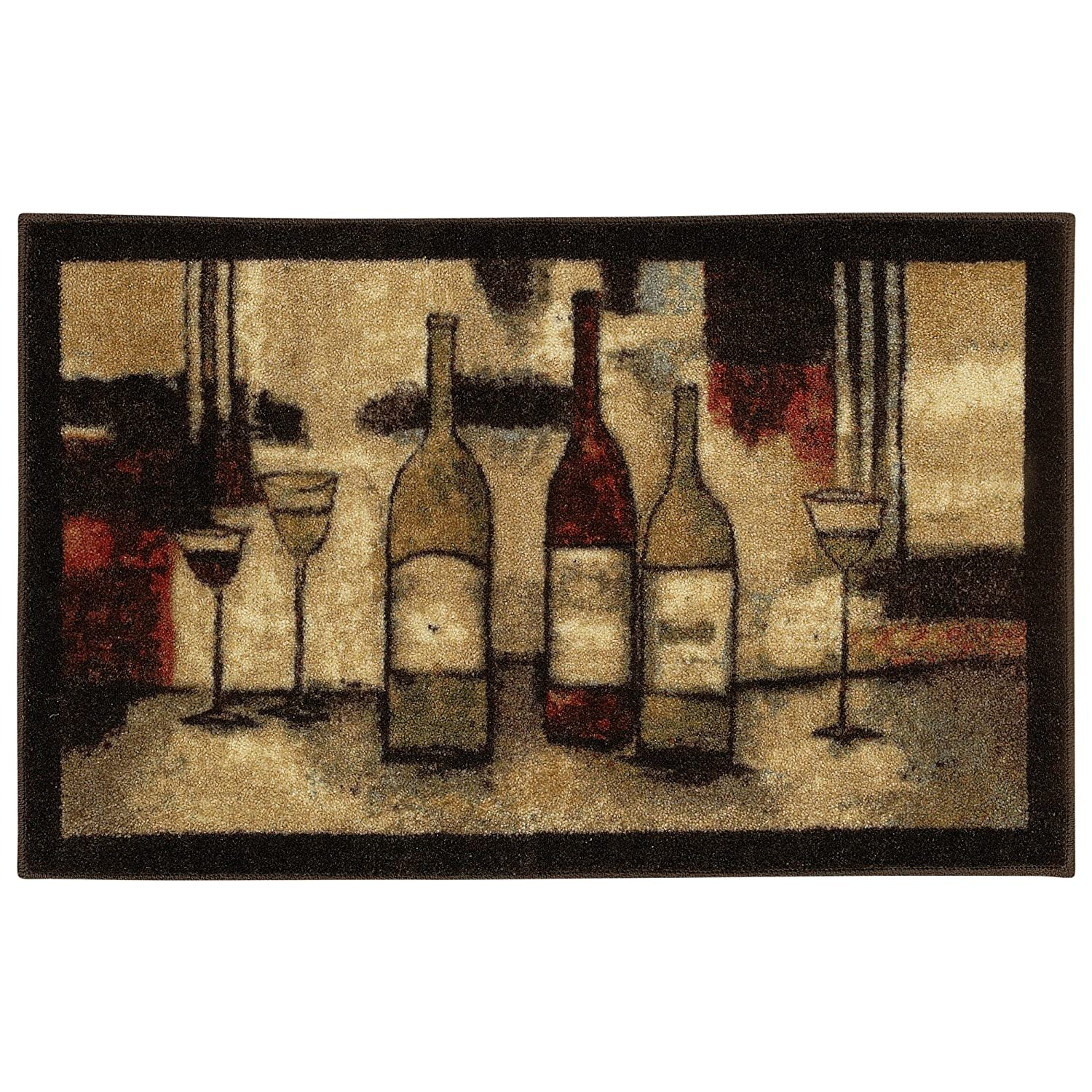 mohawk home new wave wine and glasses printed rug 3
