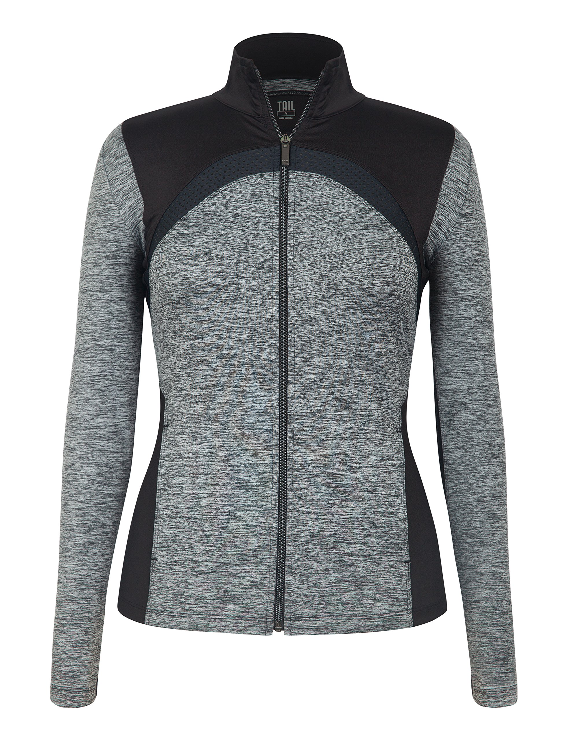 Tail Activewear Women's Dover Jacket Light Large Grey