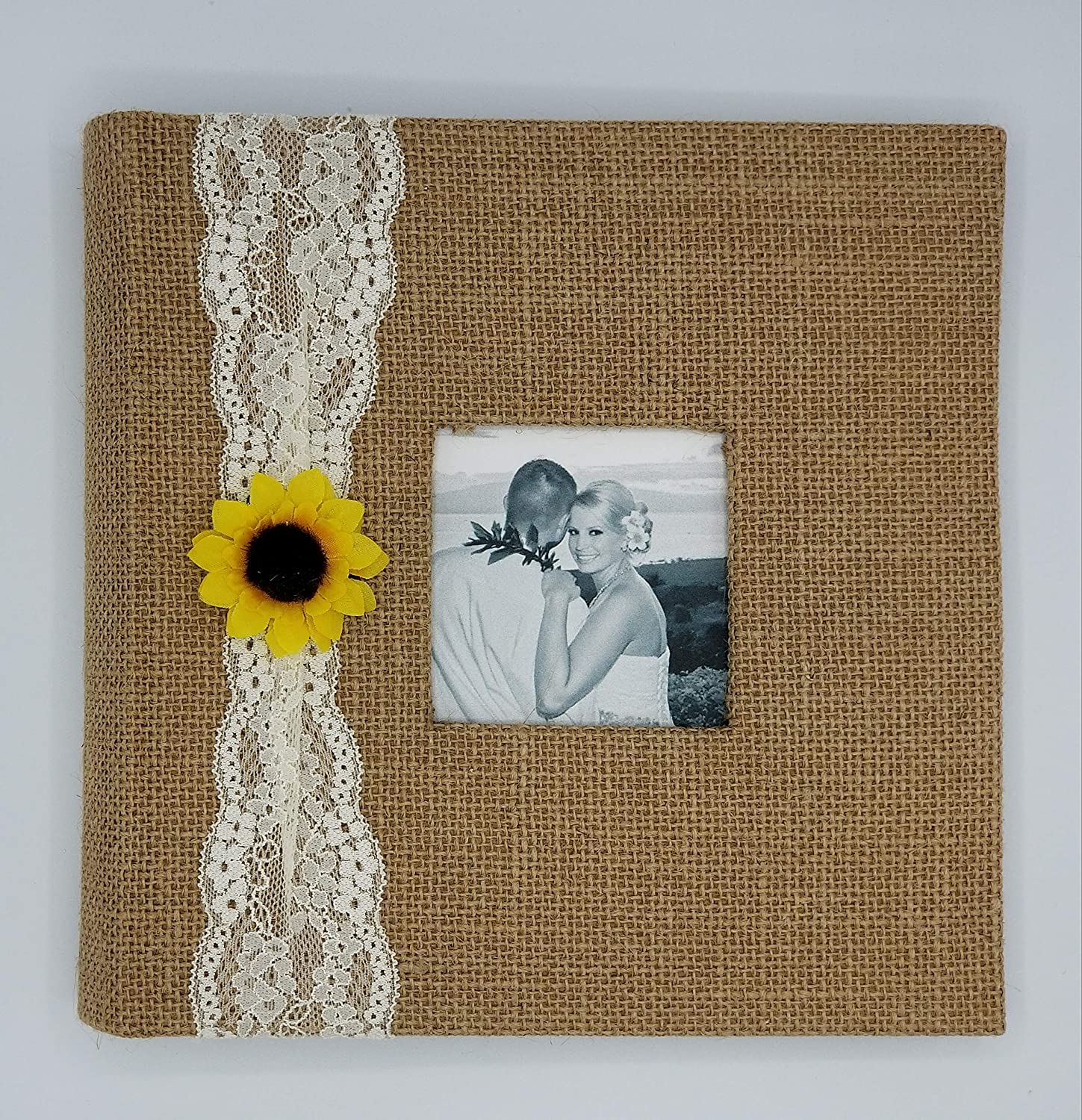 Rustic Sunflower Photo Album - Holds 160 4x6' photos