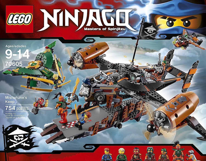 Amazon.com: Lego Ninjago, La Fortaleza de la Mala Fortuna ...