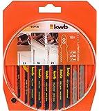 KWB 49617020 - Set de 10 hojas sierra de calar