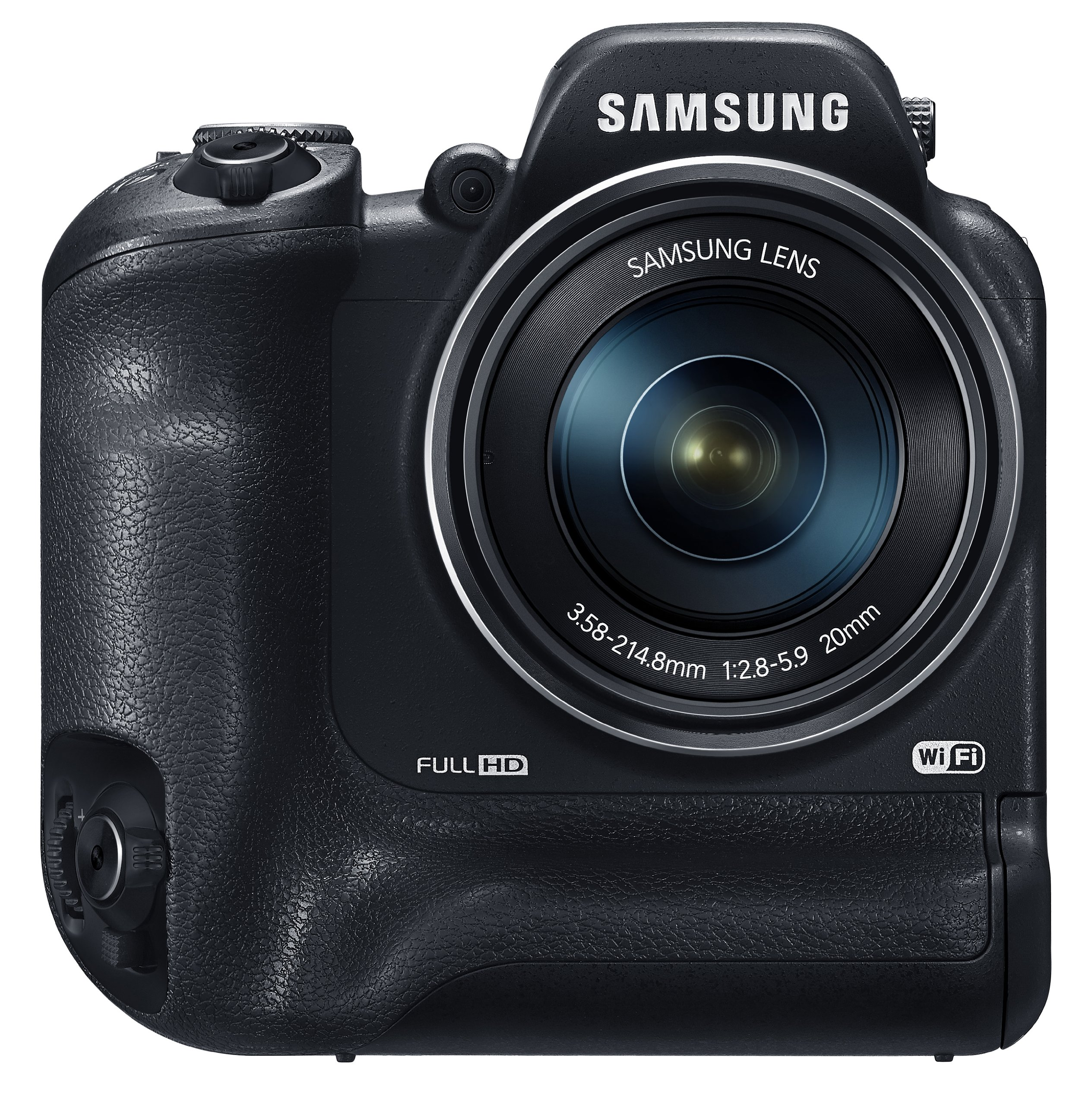 Samsung WB2200F 16.3MP CMOS Smart WiFi & NFC Digital Camera with 60x Optical  Zoom, 3.0'' LCD and 1080p HD Video (Black) by Samsung (Image #3)
