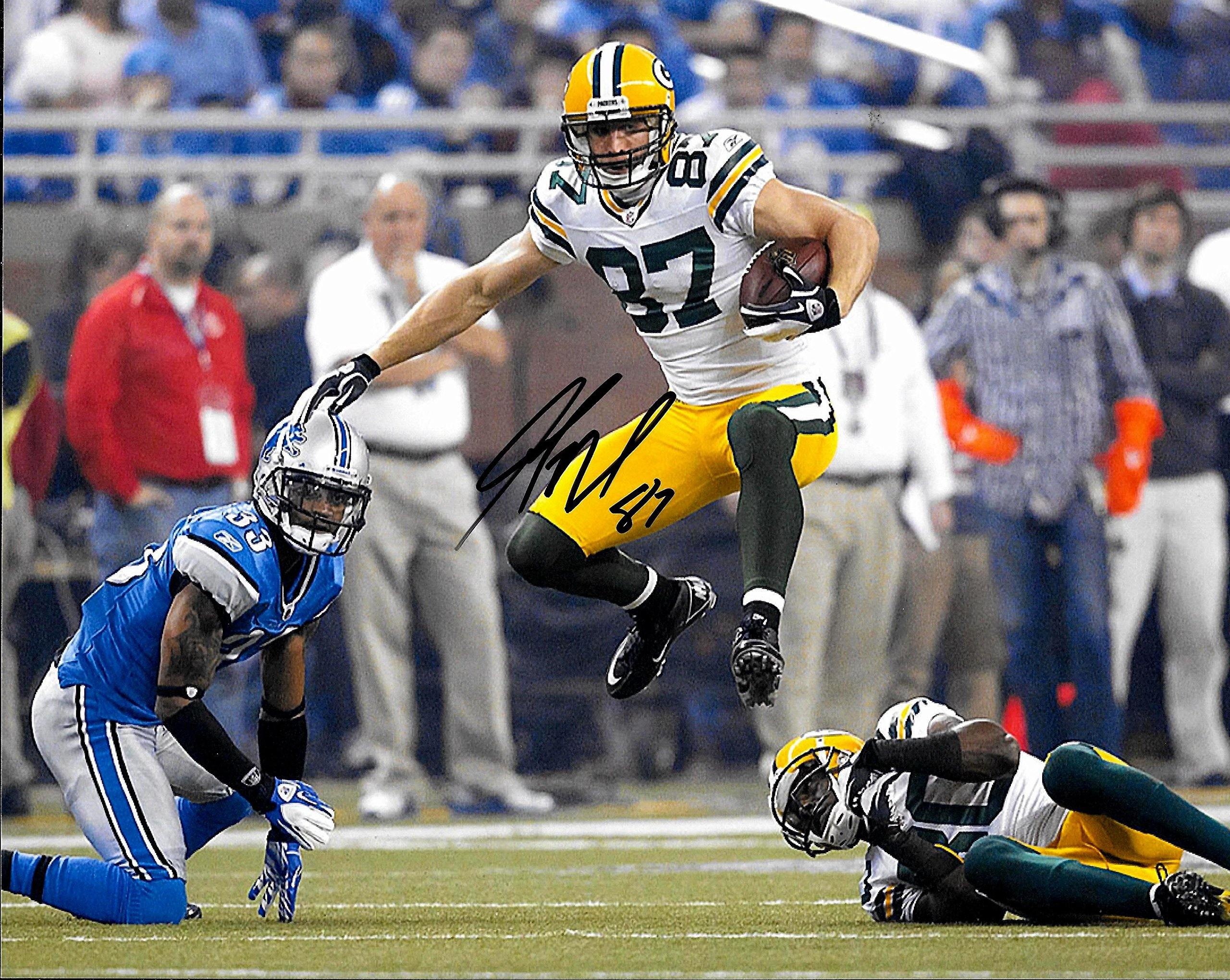 Jordy Nelson Autographed Signed Green Bay Packers 8 x 10 Photo Mint Condition COA From Nostalgic Cards & Autographs