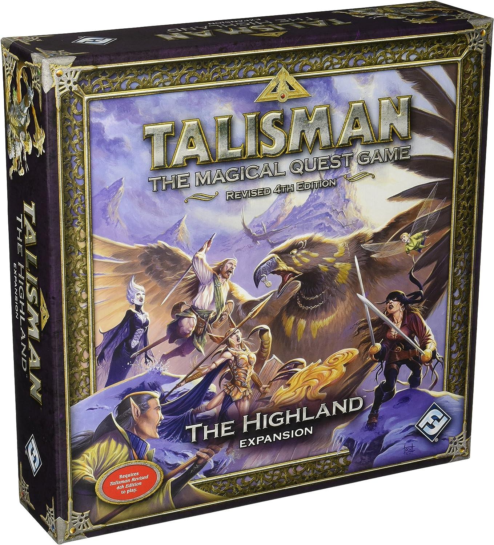 Talisman: The Magical Quest Game: The Highland: Expansion: Fantasy Flight Games: Amazon.es: Juguetes y juegos