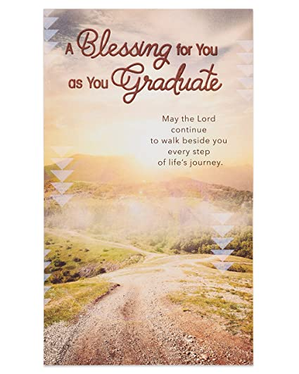 Amazon american greetings religious blessing money and gift american greetings religious blessing money and gift card holder graduation card with foil m4hsunfo