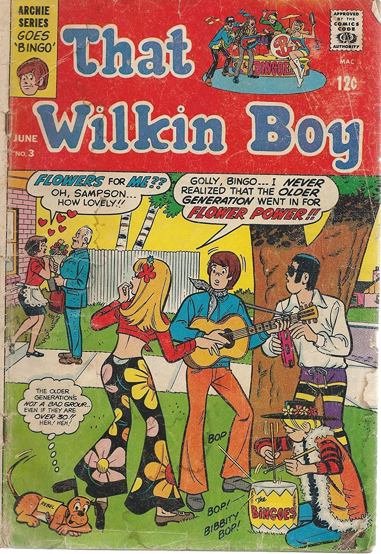 Amazon com: That Wilkins Boy #3 Good -: Entertainment Collectibles