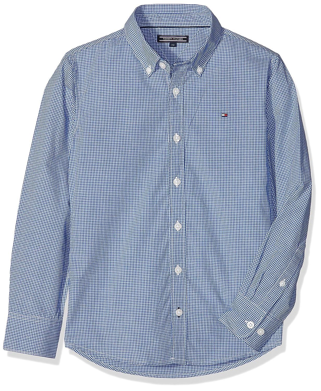 Tommy Hilfiger Jungen Hemd Mini Gingham Shirt L/s