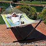 Sunnydaze 2 Person Double Hammock with Spreader