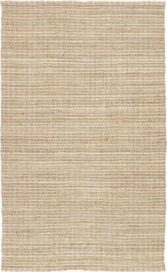 Jaipur Living Cornwall Natural Fiber Striped Neutral Area Rug 5 X 8 Furniture Decor Amazon Com