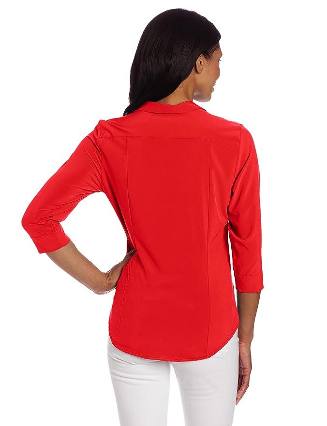 exofficio Damen Kizmet Traveler 3/4 Sleeve Shirt: Amazon.de: Sport &  Freizeit