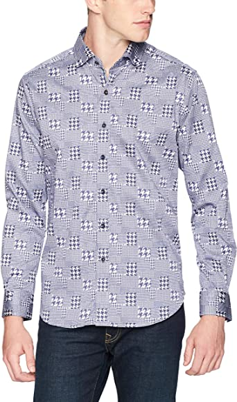 Robert Graham Mens Akada Long Sleeve Classic Fit Shirt