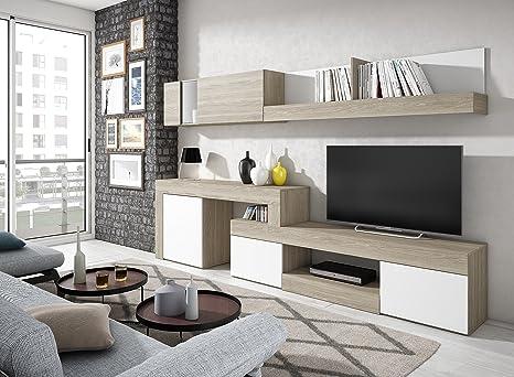 Mobelcenter - Mueble salón Comedor de 245 cm Extensible a ...