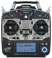 4. Futaba 10JA 10-Channel 2.4GHz Mode 2 Air T-FHSS Computer Radio Transmitter with R3008SB Receiver