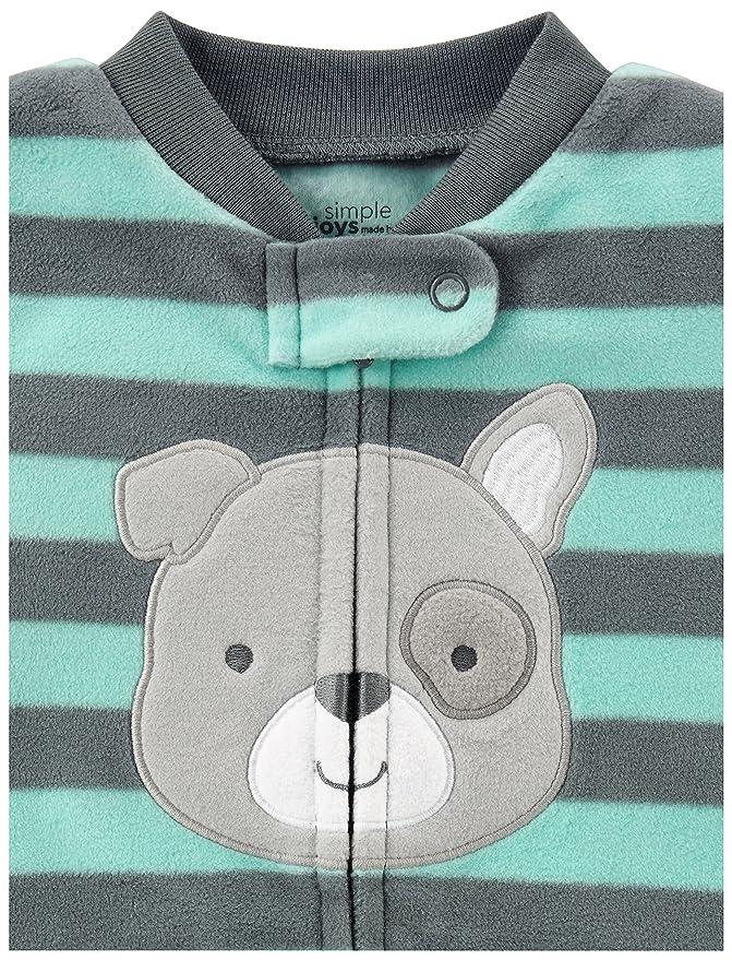 54d4ebe92da8 Simple Joys by Carter s Baby Boys  2-Pack Fleece Footed Sleep and Play
