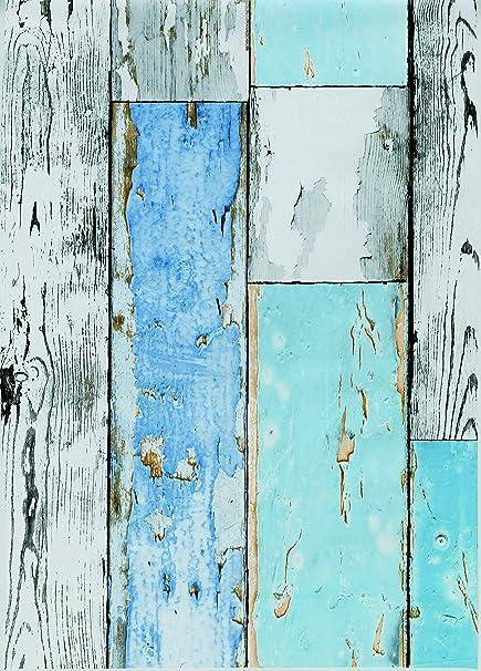 Tischdecke 140cm Wachstuch Meterware OPTIK Bambusgeflecht Decke für Gartentisch