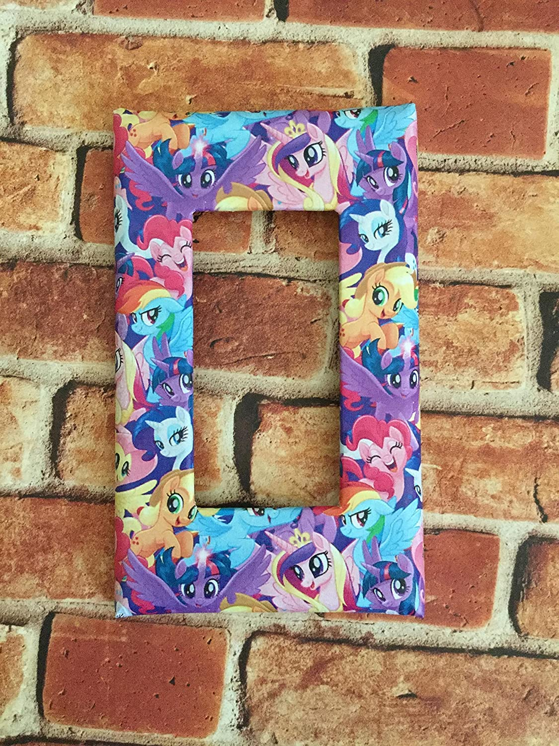 My little Pony MLP light switch plate cover home decor nursery wall outlet kids room twilight sparkle rainbow dash