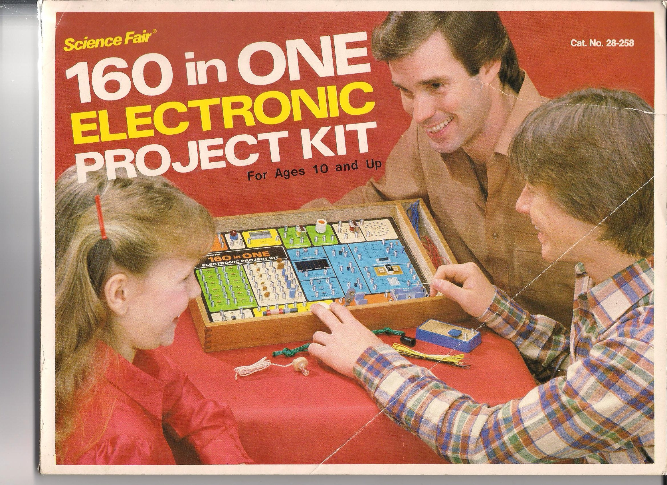 160 in One Electronic Project Kit for Ages 10 and up Manual (Science Fair  Cat. No. 28-258): Radio Shack: Amazon.com: Books