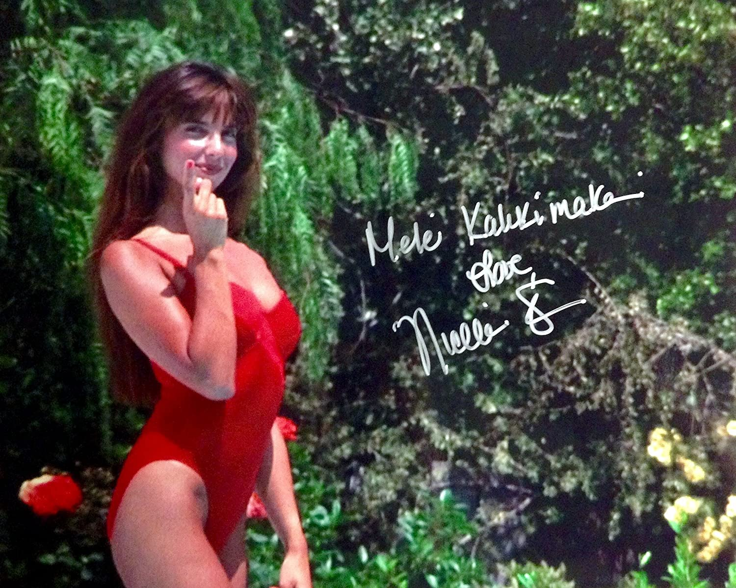 NICOLETTE SCORSESE Autographed/Signed Christmas Vacation 8x10 ...