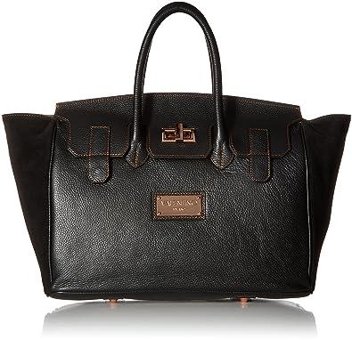 Valentino Bags by Mario Valentino Women's Omia Black Satchel ...
