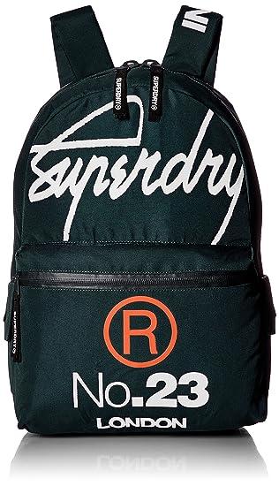 98b88570d Superdry Men's International Montana Backpack, Green, One Size ...