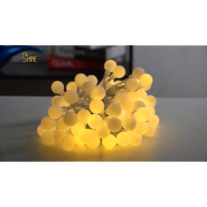A11OmPd52DS ❤【Diseño Especial de la Forma del Bulbo】: Friegue el bulbo esférico del diseño superficial, el diámetro es solamente 19 mm, Mini luz más suave del tamaño. ❤【Mando a Distancia】: Equipado con un ir de 13 teclas de control remoto, puede cambiar diferentes efectos de iluminación, el ajuste de la hora, ajustar el brillo de la luz. ❤【Ocho Efectos de Iluminación】: Incluyendo la combinación, en onda, secuencial, Slo glo, persiguiendo/Flash, lento se descolora, centelleo/flash, constante encendido, satisfaciendo le varias necesidades y traerle una variedad de disfrute visual.