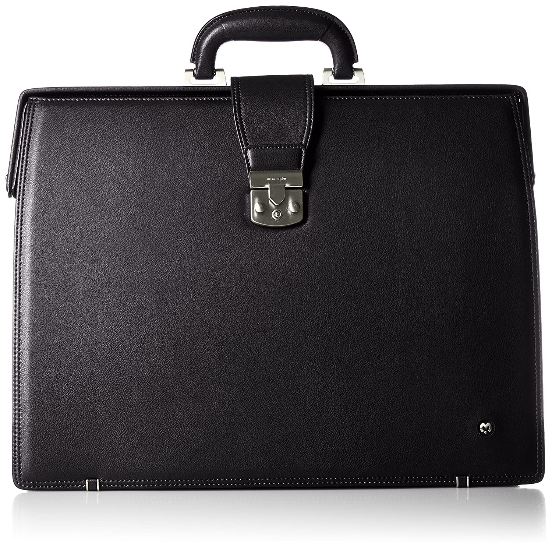 [ミラショーン] ビジネスバッグ ダレスバッグ 45cm クレスタ 193526 B01M9AXYKU ブラック ブラック