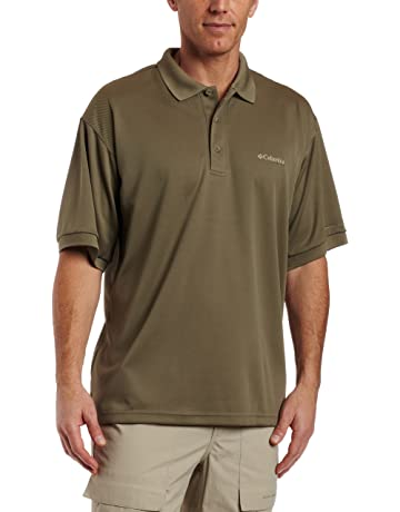 00357e711 Columbia Men's PFG Perfect Cast Polo Shirt, Breathable, UV Protection