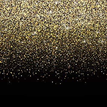 Black Gold Dots Wall Scene Setter Photo Backdrop New Year Hollywood  Xmas Party