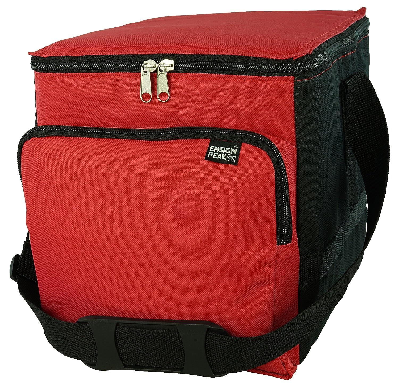 Shop123go-Kühler Große Kühltasche, isoliert, Rot