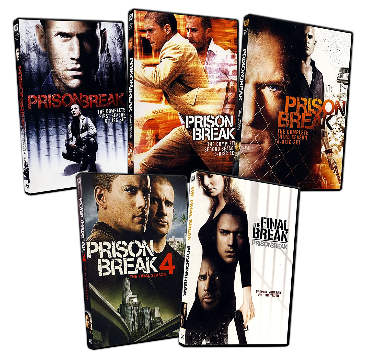 Amazoncom The Prison Break The Complete 1 4 Season