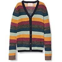Scotch & Soda Cardigan In Colourful Lurex Stripe Chaqueta Punto para Niñas