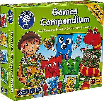Orchard Toys - Juego de Mesa (4 Juegos en 1 Caja): Amazon.es: Juguetes y juegos