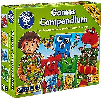 Orchard_Toys - Juego de Mesa (4 Juegos en 1 Caja): Amazon.es ...