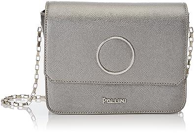 Sc4524pp04sh0912, Womens Top-Handle Bag, Grigio (Piombo), 0.1x0.1x0.1 cm (W x H x L) Pollini