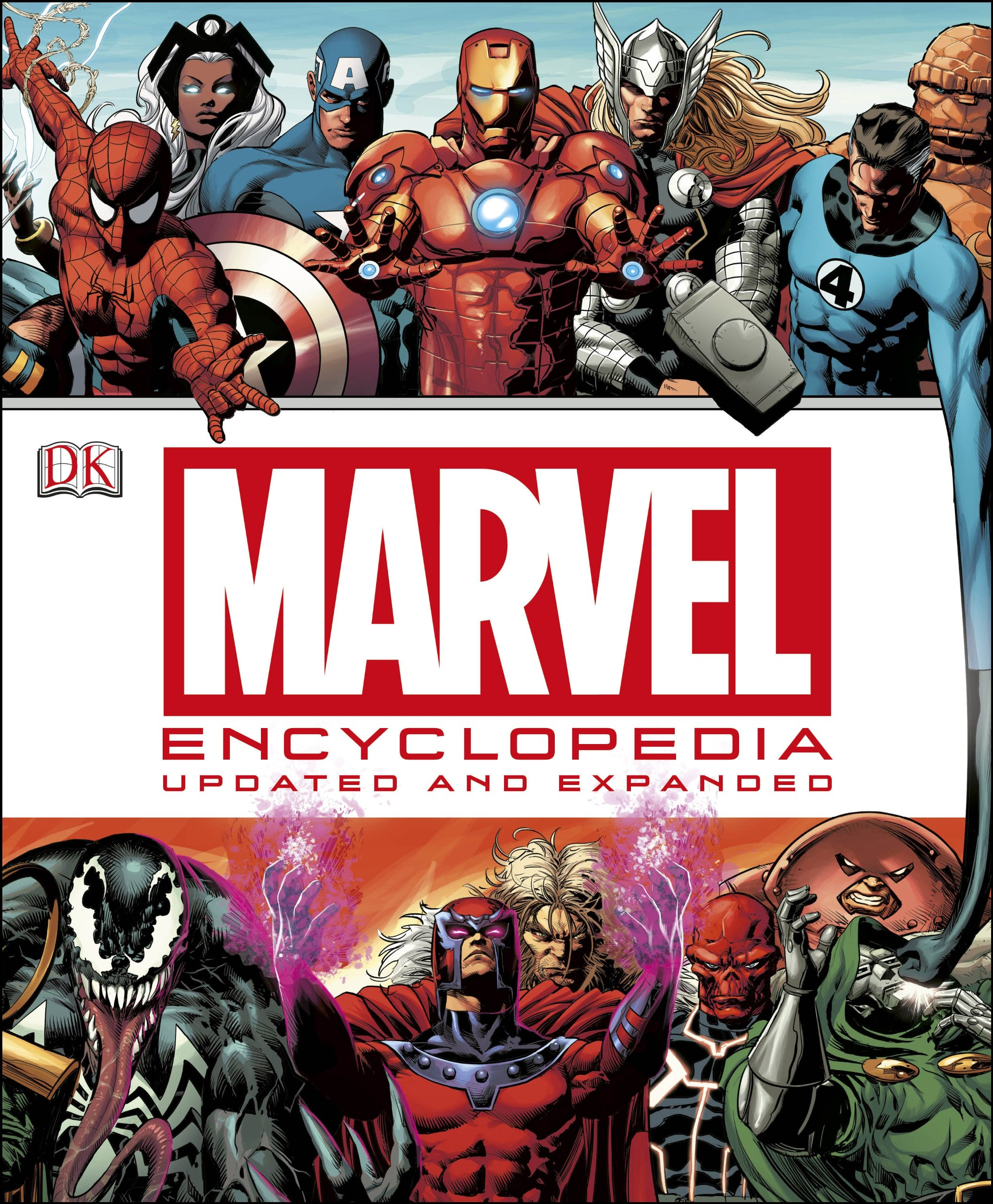 Image result for marvel encyclopedia updated and expanded 2015