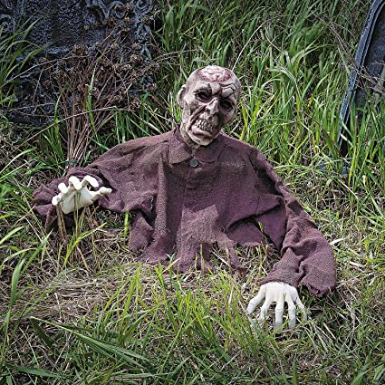 Halloween Yard.Fun Express Zombie Brain Breaker Ground Breaker Halloween Yard Decorations