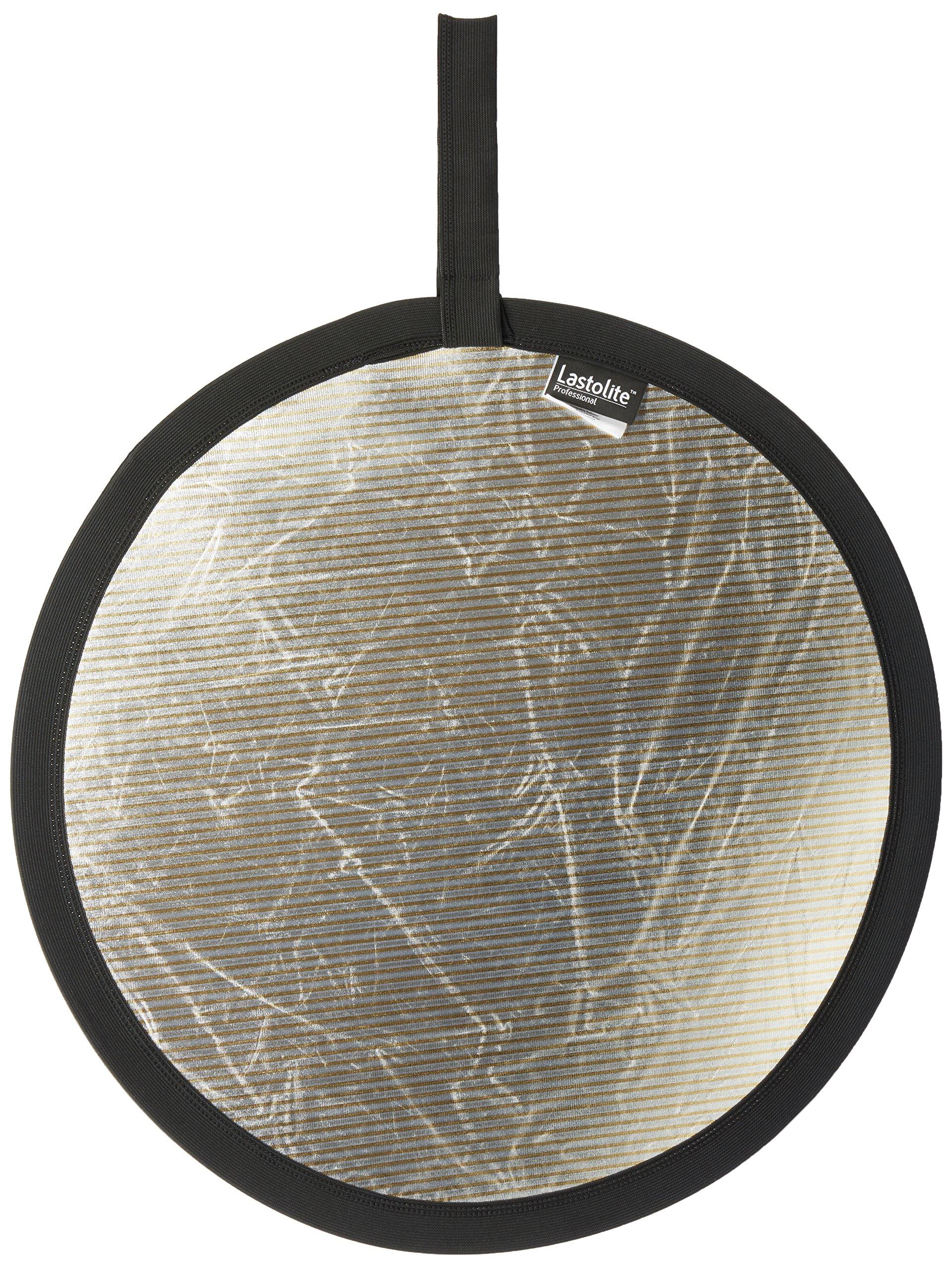 Lastolite Collapsible Reflector - 20'' Circular - Sunlite/Soft Silver