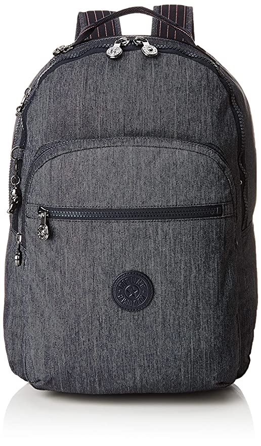 9683189d0d Kipling CLAS Seoul School Backpack, 45 cm, 25 liters, Blue (Active Denim