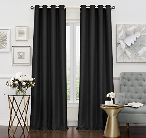 Eclipse Luxor Thermal Insulated Single Panel Grommet Top Darkening Curtain